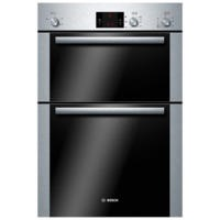 Bosch HBM13B251B Classixx Electric Built-in Double Fan Oven Brushed Steel