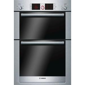 Bosch HBM56B551B Logixx Stainless Steel Electric Built-in Double Oven