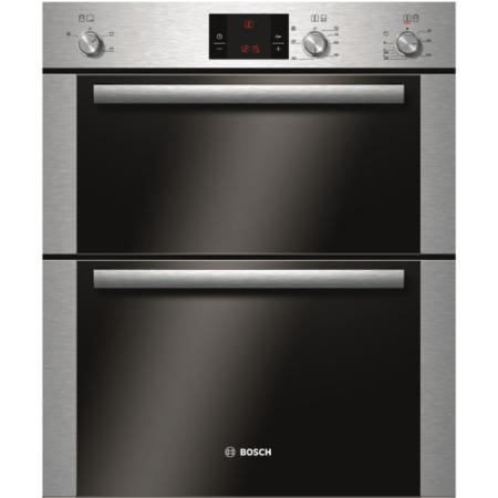 GRADE A2 - BOSCH HBN13B251B Classixx Electric Built-under Double Hot Air Oven Stainless Steel