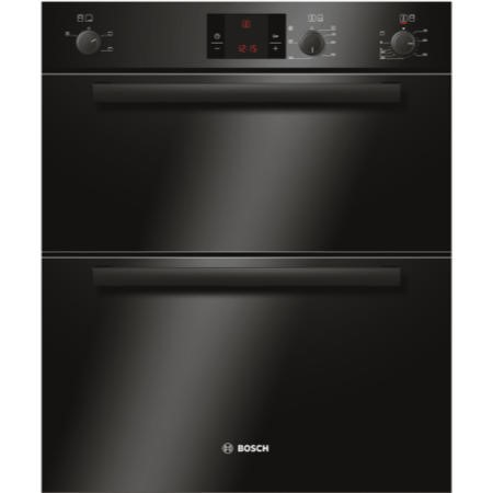 GRADE A2 - BOSCH HBN13B261B Classixx Electric Built-under Double Hot Air Oven - Black