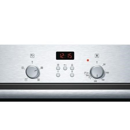 GRADE A2 - Bosch HBN331E4B built-in or built under single oven electric Stainless steel