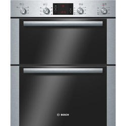Bosch HBN43B250B Classixx Electric Built Under Double Hot Air Oven - Brushed Steel