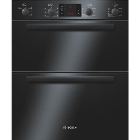 Bosch HBN43B260B Classixx Electric Built-under Double Multifunction Oven - Black