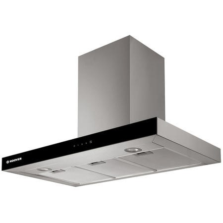 Hoover HBVS985TX 90cm Touch Control Flat Cooker Hood - Stainless Steel