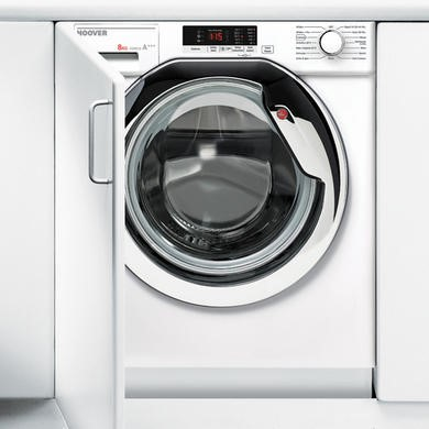 Hoover HBWM814SAC-80 8kg 1400rpm Integrated Washing Machine - White