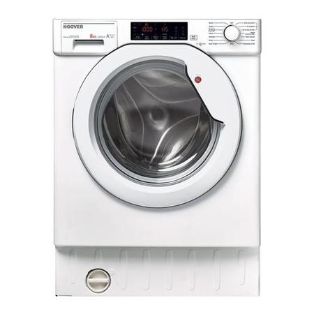 Hoover HBWM84TAHC-80 8kg 1400rpm Integrated Washing Machine With 14 min Quick Wash And Delay Start