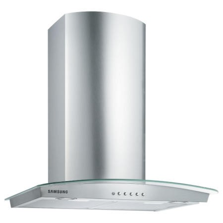 Samsung HC6347BG 60 cm Stainless Steel Chimney Cooker Hood With Curved Glass Canopy