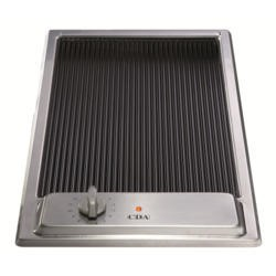 CDA HCC310SS 29cm Domino Ceramic Griddle Stainless Steel