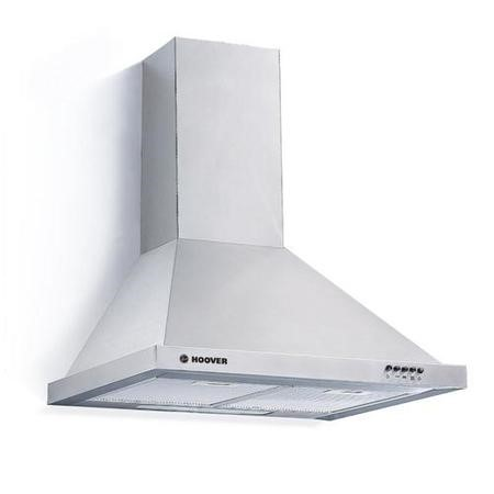 Hoover HCE116NX 60cm Chimney Chimney Cooker Hood - Stainless Steel