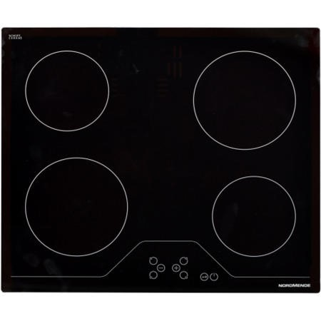NordMende HCT62FL 60cm Ceramic Hob Touch Front Edge Bevelled Only