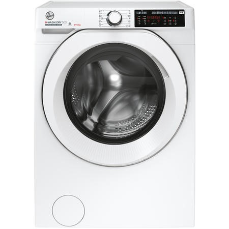 Hoover HD496AMC/1-80 H-WASH 9+6 Freestanding Washer Dryer - White