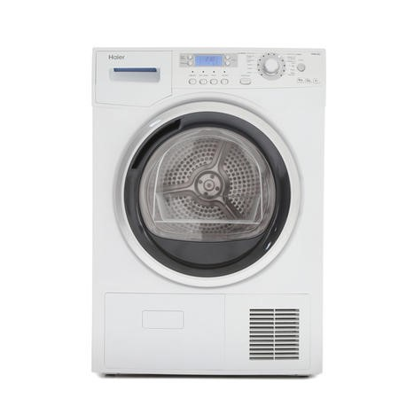 Haier HD80-A82 8kg A++ Freestanding Heat Pump Condenser Tumble Dryer White