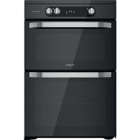 Hotpoint HDM67I9H2CB 60cm Double Oven Induction Electric Cooker - Black Best Price, Cheapest Prices
