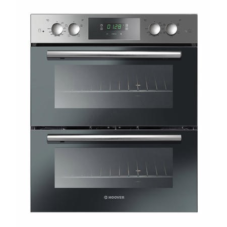 Hoover HDO8442X 5 Function 84L Electric Built-under Double Oven With Touch Control LED Programmer -