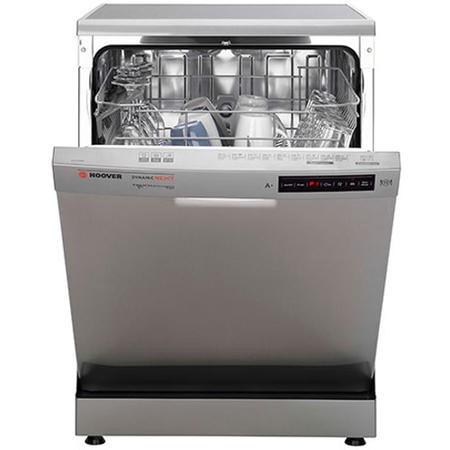 Hoover One Touch HDP1D039X 13 Place Freestanding Dishwasher - Silver