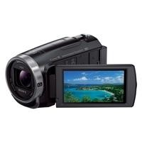 Sony HDR-CX625 Camcorder Black HD MicroSD 30x Zoom 26.8mm Lens