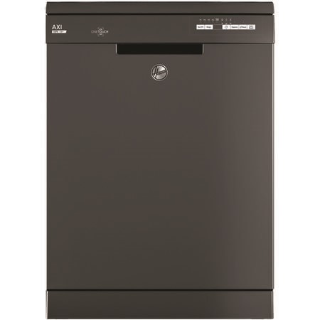 Hoover Freestanding Dishwasher HDYN1L390OA With One Touch - Graphite
