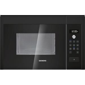 Siemens HF15M664B 800W 20L Built-in Standard Microwave For A 60cm Wide Cabinet Black
