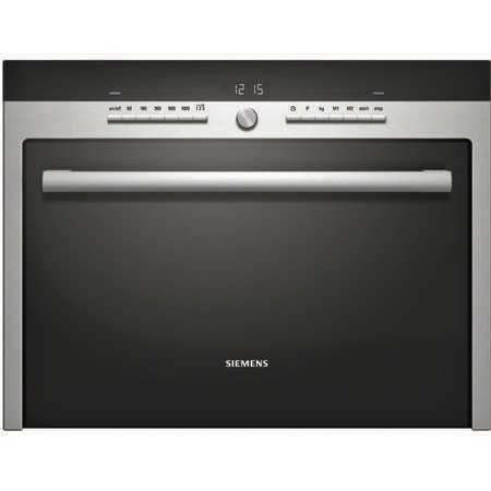 Siemens hf35m562b iq500 compact built in microwave oven for Small built in microwave oven