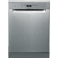 Hotpoint HFC3T232WFGXUK 14 Place 3DWashZone A++ Freestanding Dishwasher - Stainless Steel Best Price, Cheapest Prices
