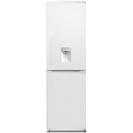 Hoover HFF195WWK Frost Free Freestanding Fridge Freezer With Water Dispenser - White