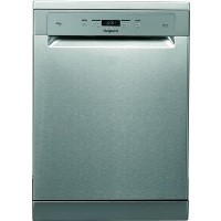 Hotpoint HFO3T222WGXUK 14 Place 3DWashZone A++ Freestanding Dishwasher - Stainless Steel Best Price, Cheapest Prices