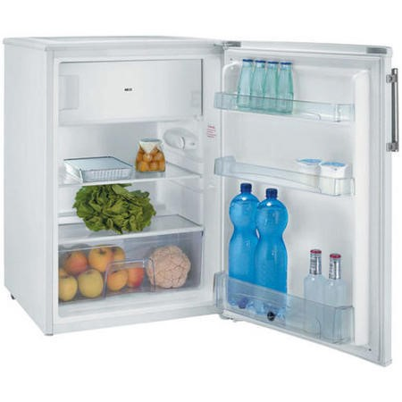Hoover HFOE5485WE 84x55cm Under Counter Freestanding Fridge With Icebox In White