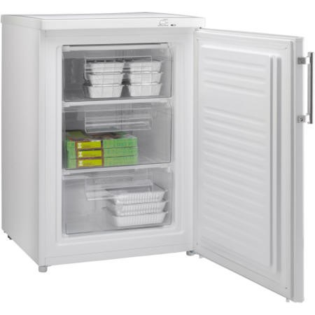 Hoover HFZE6085WE 60cm Wide Freestanding Upright Under Counter Freezer - White