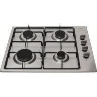 CDA HG6150SS 60cm Four Burner Gas Hob Stainless Steel