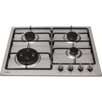 CDA HG6250SS 60cm Four Burner Gas Hob Stainless Steel