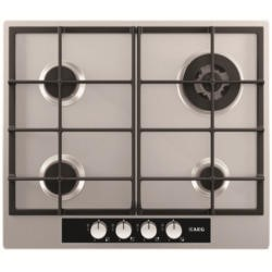 AEG HG654440SM 60cm Four Burner Gas Hob - Stainless Steel