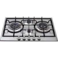 CDA HG7500SS 75cm Four Burner Gas Hob Stainless Steel