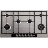 AEG HG956440SM Extra Wide Six Burner 90cm Gas Hob in BlackStainless steel