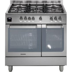 Hoover HGD9395IX Twin Cavity 90cm Dual Fuel Range Cooker Stainless Steel