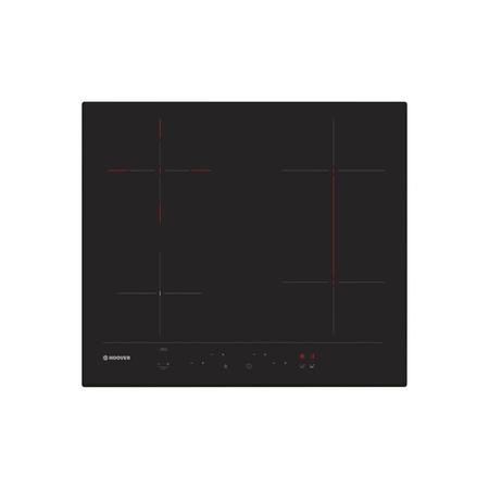 Hoover HH64DBB3P 60cm Touch Control Four Zone Ceramic Hob With Bridge Zone