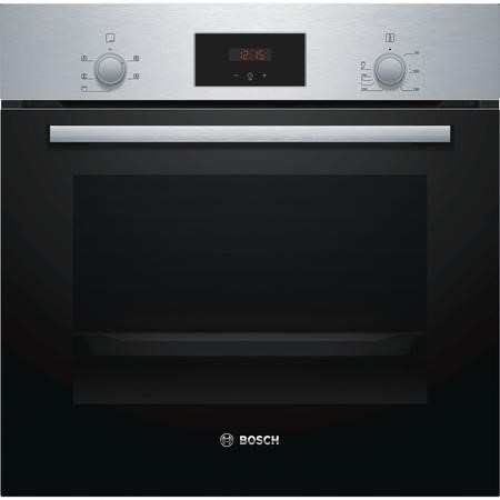 Bosch HHF113BR0B Serie 2 Electric Built-in Single Fan Oven - Stainless Steel