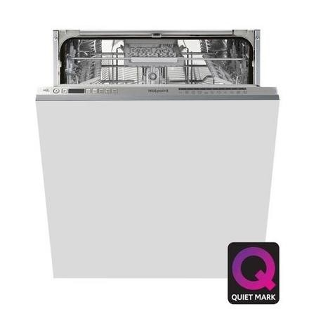 Hotpoint Ultima HIO3C22WSC 14 Place Fully Integrated Dishwasher with Quick Wash - Silver
