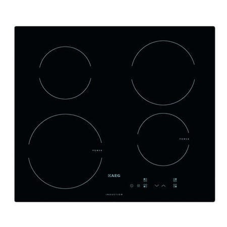 AEG HK604200IB 59cm Touch Control Four Zone Induction Hob