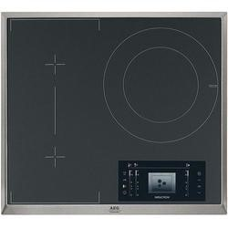 AEG HK683320XG 58cm Three Zone Induction Hob With Stainless Steel Frame