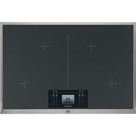 GRADE A3 - AEG HK884400XG 77cm Four Zone Induction Hob With Stainless Steel Frame