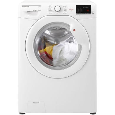 GRADE A1 - Hoover HL41472D3W Link 7kg 1400rpm Freestanding Washing Machine -White