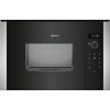 Neff HLAWD23N0B 800W 20L Compact Height Built-in Microwave Oven For A 60cm Wide Cabinet - Stainless Steel