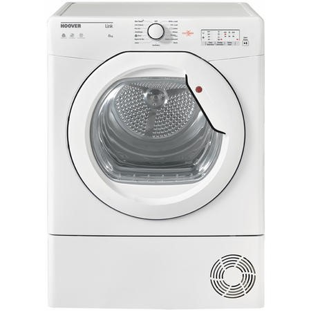 Hoover HLC8LG-80 8kg Freestanding Condenser Tumble Dryer - White