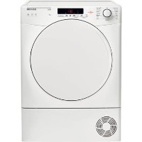 Hoover HLC9DF 9kg Freestanding Condenser Tumble Dryer - White with White Door