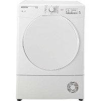 Hoover HLC9LF Link With One Touch 9kg Freestanding Sensor Condenser Tumble Dryer - White With Plastic Door