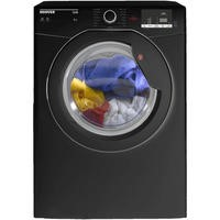 Hoover HLV8DGB Link 8kg Freestanding Vented Sensor Tumble Dryer With One Touch - Black