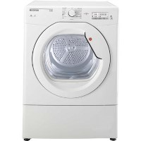 Hoover HLV8LG Link 8kg Freestanding Vented Sensor Tumble Dryer With One Touch - White
