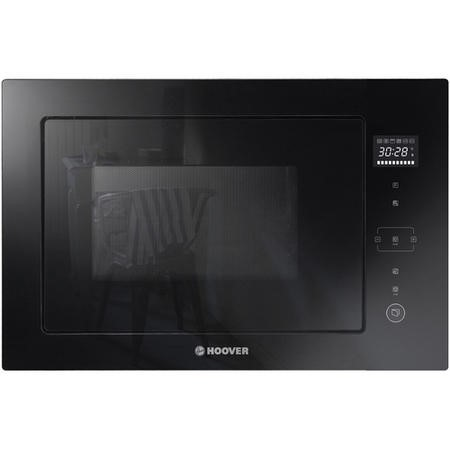 Hoover HMBG25GDFB 25L 1100W Built-in Microwave Oven With Grill - Black