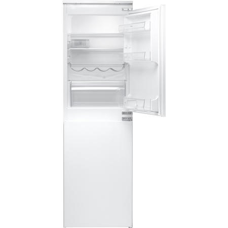 Hotpoint HMCB50501AA 54cm Wide 50-50 Integrated Upright Fridge Freezer - White