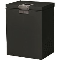 Hoover HMCH102BEL 57cm Wide 98L Chest Freezer - Black